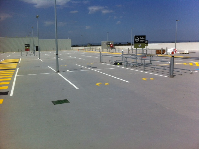 Car Park marking multi level