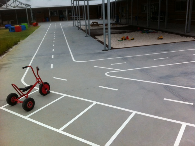 School Play Ground Markings